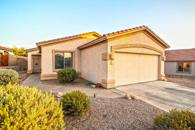 Marana Single Family Home For Sale: 5529 W Crimson Bluff Drive
