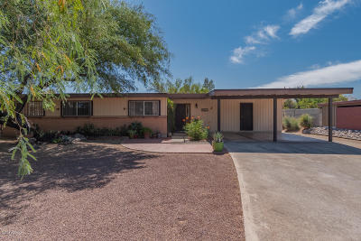 Pima County, Pinal County Single Family Home Active Contingent: 8645 E Bellevue Place
