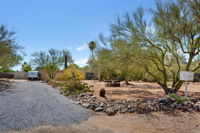 Tucson Single Family Home Active Contingent: 2225 W Rapallo Way