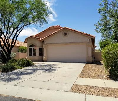 Oro Valley Single Family Home Active Contingent: 12259 N Kylene Canyon Drive