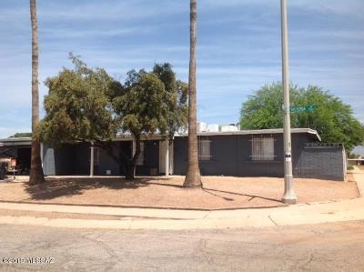 Tucson Single Family Home Active Contingent: 7371 E Victoria Drive