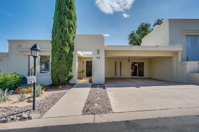Tucson Townhouse Active Contingent: 6100 N Oracle Road #12