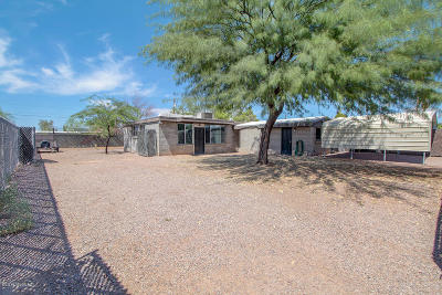 Tucson Single Family Home For Sale: 1622 W Ajo Way