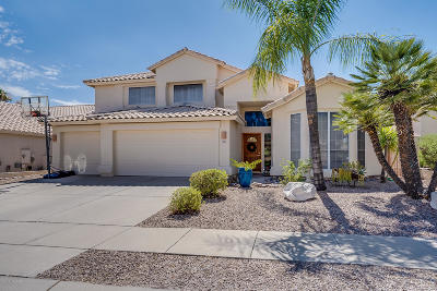 Tucson Single Family Home Active Contingent: 11331 N Canada Creek Drive