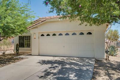 Tucson Single Family Home Active Contingent: 6590 Tuzigoot Way