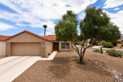 Oro Valley Single Family Home Active Contingent: 2383 E Indian Town Way