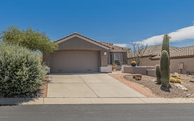 Marana Single Family Home Active Contingent: 13462 N Sunset Mesa Drive
