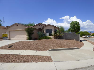 Tucson Single Family Home Active Contingent: 7941 E Shimmering Way