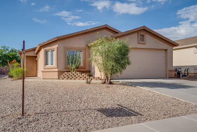 Tucson Single Family Home Active Contingent: 8827 E Mountain Spring Drive