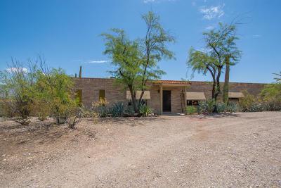 Tucson Single Family Home Active Contingent: 3580 N Camino De Vista