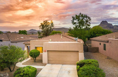 Tucson Single Family Home Active Contingent: 7495 W Sweet River Road