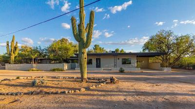Pima County, Pinal County Single Family Home Active Contingent: 8550 E Wrightstown Road