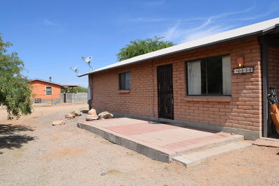Tucson Single Family Home Active Contingent: 4850 S Carol Avenue