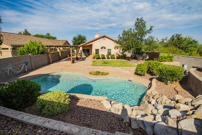 Tucson Single Family Home For Sale: 39555 Greystone Court