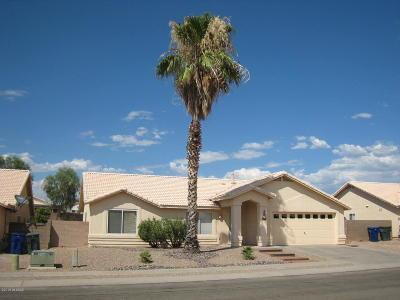 Tucson Single Family Home Active Contingent: 9273 E Bent Creek Way