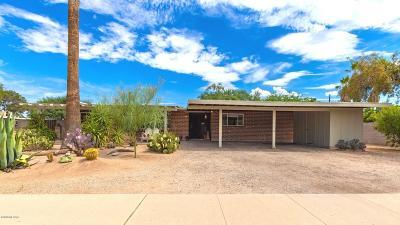 Tucson Single Family Home Active Contingent: 4827 E Alta Vista Street