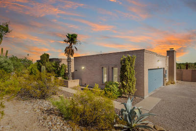 Tucson Single Family Home Active Contingent: 2371 W Bovino Way