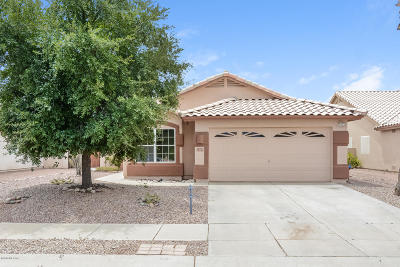 Tucson Single Family Home For Sale: 7283 W Opossum Drive