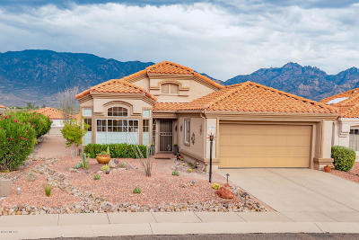 Oro Valley Single Family Home Active Contingent: 14336 N Wisteria Way