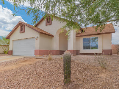 Pima County, Pinal County Single Family Home Active Contingent: 9140 E Spire Lane