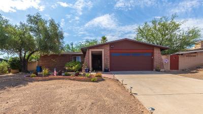 Tucson Single Family Home Active Contingent: 1385 S Desert Crest Drive
