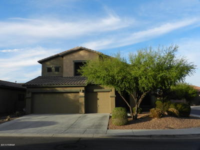 Tucson Single Family Home For Sale: 7434 W Crimson Ridge Drive