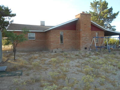 Cochise County Single Family Home For Sale: Moore Ranch Hq Grim Ln.