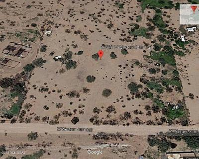 Tucson Residential Lots & Land For Sale: 17520 W Western Star Trail