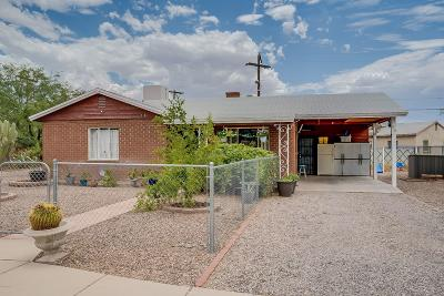 Tucson Single Family Home For Sale: 518 E Flores Street