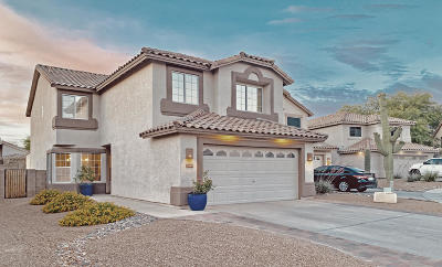 Pima County Single Family Home For Sale: 2640 W Mountain Heights Court