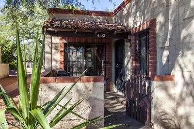 Tucson Townhouse For Sale: 4132 N Via Villas