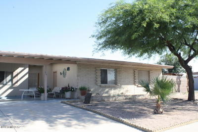 Pima County Single Family Home Active Contingent: 420 N Gollob Road