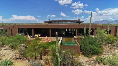 Oro Valley Single Family Home For Sale: 259 E Dusty View Drive