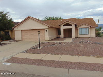 Pima County, Pinal County Single Family Home Active Contingent: 9171 E Bell Cactus Lane