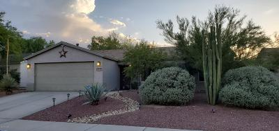 Tucson Single Family Home Active Contingent: 8697 N Golden Moon Way