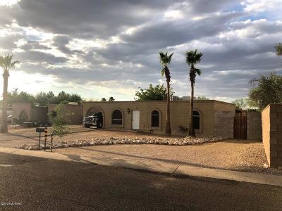 Tucson Single Family Home For Sale: 2930 W Calle Pajarito