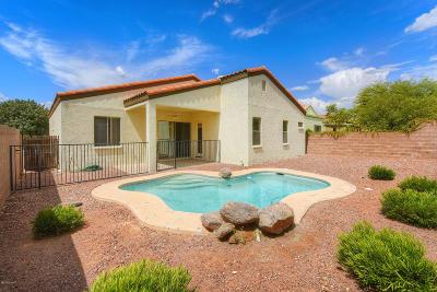 Tucson Single Family Home Active Contingent: 10214 E Calle Estrella Polar