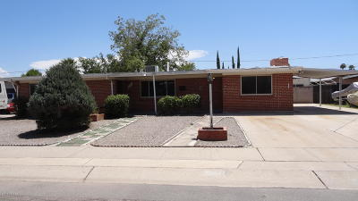 Tucson Single Family Home For Sale: 1261 W Knox Place