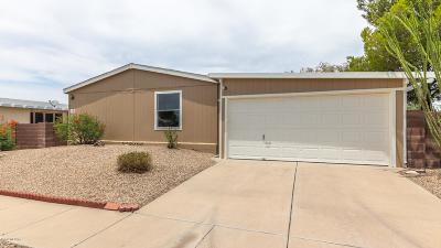 Pima County Manufactured Home For Sale: 6185 E Rough Rock Drive