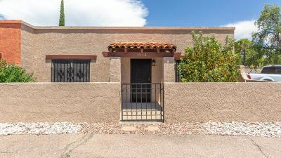 Pima County Townhouse For Sale: 1932 S Avenida Orilla