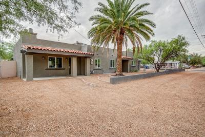 Tucson Single Family Home For Sale: 1638 N Jones Boulevard