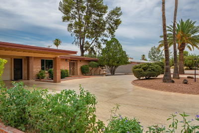 Tucson Single Family Home For Sale: 5511 E South Wilshire Drive