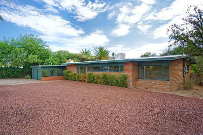 Pima County Single Family Home Active Contingent: 2522 N Indian Ruins Road