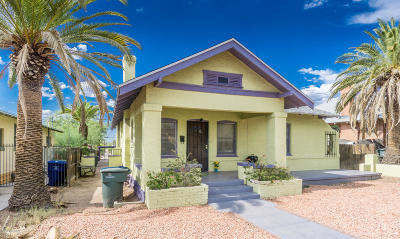 Tucson Single Family Home For Sale: 527 E Speedway Boulevard