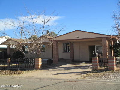 Cochise County Single Family Home For Sale: 100 Keating Street