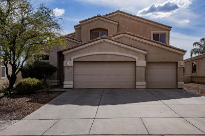Oro Valley Single Family Home For Sale: 380 W Sacaton Canyon Drive