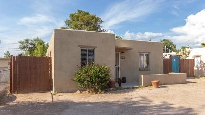 Tucson Single Family Home For Sale: 760 W Alturas Street