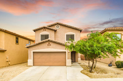 Tucson Single Family Home Active Contingent: 7689 E Fair Meadows Loop
