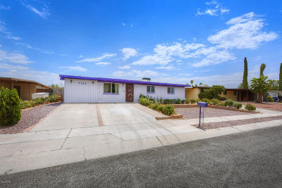 Tucson Single Family Home For Sale: 7764 E Vancouver Place
