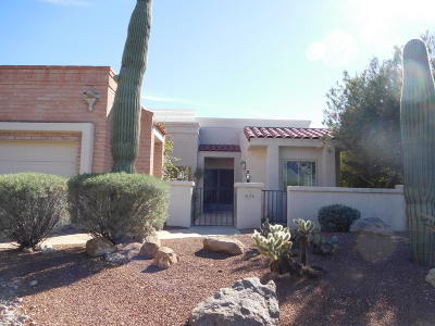 Tucson Single Family Home Active Contingent: 4170 E Aquarius Drive